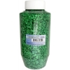 Glitter Flakes Vials 454grams Green With Sifter Top
